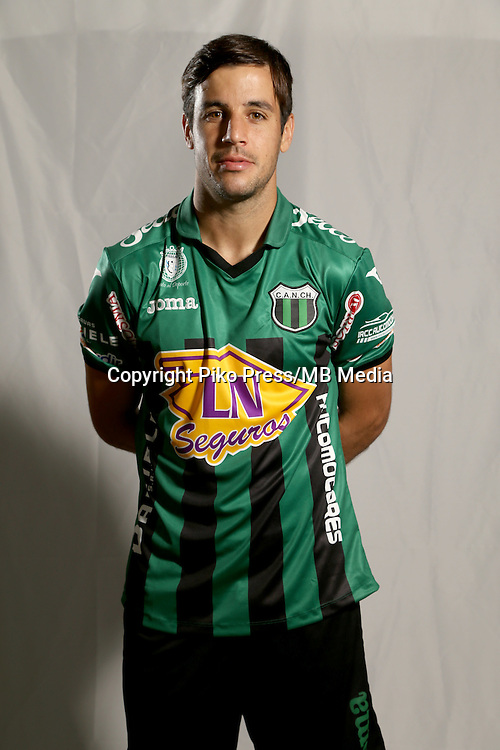 CAMPEONATO ARGENTINO Soccer / Football. <br /> NUEVA CHICAGO Portraits <br /> Bs.As. Argentina. - April 11, 2015<br /> Here Nueva Chicago player Fernando De La Fuente<br /> &copy; PikoPress