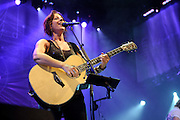 Sarah McLachlan perfroming at Lilith Fair 2010 at Verizon Wireless Amphitheater in St. Louis, MO on July 16, 2010