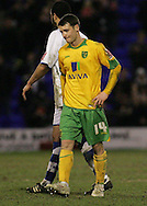 Tranmere - Friday, April 2nd, 2010: Wesley Hoolahan of Norwich City looks despondent after his teams loss against Tranmere Rovers during the Coca Cola League One match at Prenton Park, Tranmere. (Pic by Michael Sedgwick/Focus Images)