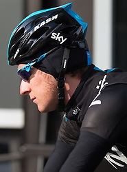 16.04.2013, Hauptplatz, Lienz, AUT, Giro del Trentino, Etappe 1, Lienz nach Lienz, im Bild Bradley Wiggins (Team Sky Procycling) // during stage 1, Lienz to Lienz of the Giro del Trentino at the Hauptplatz, Lienz, Austria on 2013/04/16. EXPA Pictures © 2013, PhotoCredit: EXPA/ Johann Groder