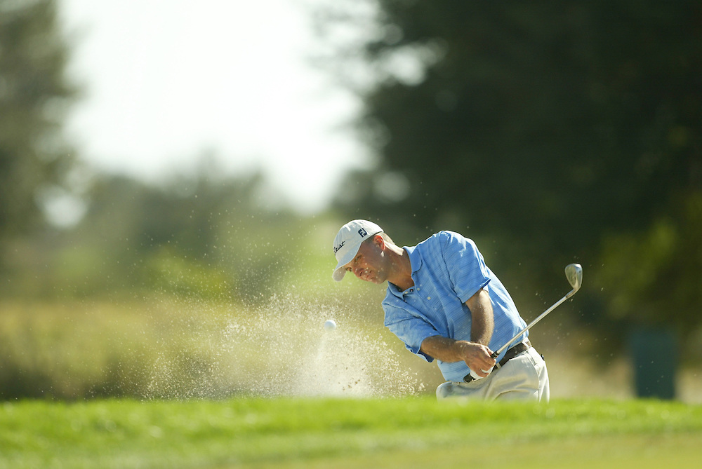 Ryan Gioffre..2003 PGA Tour Qualifying, Final Stage.Second Round.Orange County National GC.Orlando, FL.Thursday, December 4  2003..Photograph by Darren Carroll..