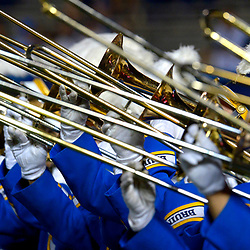 UCLA Bruins band performs prior to a NCAA college football game against Oregon State Beavers at the Rose Bowl in Pasadena, Calif., Saturday, Nov. 12, 2016.