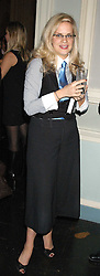 CAMILLA LONG and NICHOLAS COLERIDGE  at a party hosted by Tatler magazine to celebrate the publication of Lunar park by Bret Easton Ellis held at Home House, 20 Portman Square, London W1 on 5th October 2005.<br /><br />NON EXCLUSIVE - WORLD RIGHTS