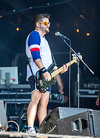 2019-06-06 | Norje, Sweden: Andreas Bladini performing at Sweden Rock Festival ( Photo by: Roger Linde | Swe Press Photo )<br /> <br /> Keywords: Sweden Rock Festival, Norje, Festival, Sweden Rock Festival, SRF, Lillasyster