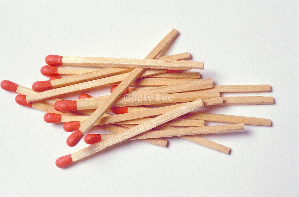 pile of matches