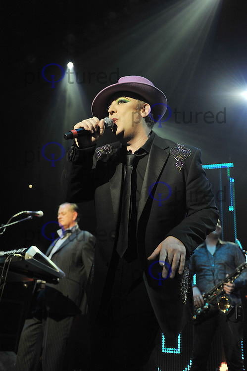Boy George performs live in concert as part of B.E.F at the Camden Roundhouse, London, UK 15th October 2011. Contact: rich@pictured.com +44 07941 079620(Picture by Awais Butt)