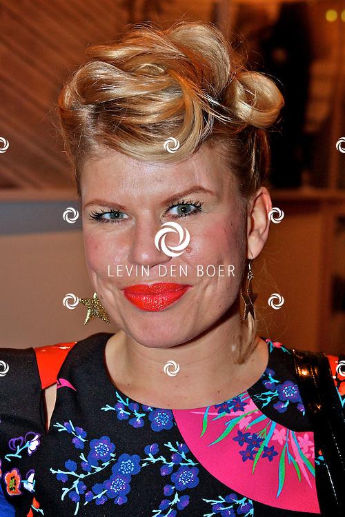 AMSTERDAM - In het nieuwe DeLaMar theater is de premiere van BNN Spuiten en Slikken de Musical gestart.  Met op de foto Anne-Marie Jung. FOTO LEVIN DEN BOER - PERSFOTO.NU