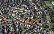 aerial photograph of Canton Cardiff Wales UK