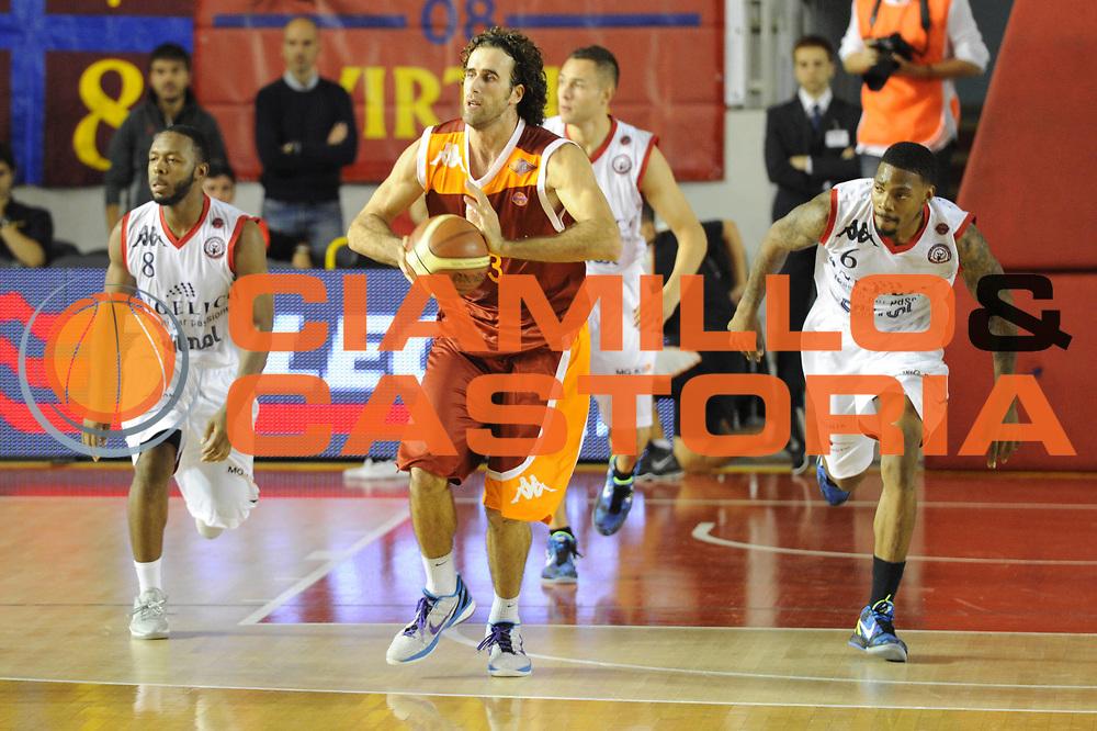 DESCRIZIONE : Roma Lega A 2011-12 Virtus Roma Angelico Biella<br /> GIOCATORE : Luigi Datome<br /> CATEGORIA : contropiede<br /> SQUADRA : Virtus Roma<br /> EVENTO : Campionato Lega A 2011-2012<br /> GARA : Virtus Roma Angelico Biella<br /> DATA : 16/10/2011<br /> SPORT : Pallacanestro<br /> AUTORE : Agenzia Ciamillo-Castoria/GiulioCiamillo<br /> Galleria : Lega Basket A 2011-2012<br /> Fotonotizia : Roma Lega A 2011-12 Virtus Roma Angelico Biella<br /> Predefinita :