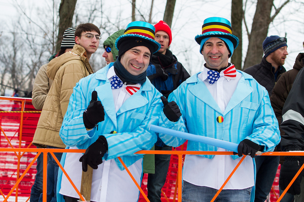 Bi-partisan support for the 2013 World Championships.  ©Brian Nelson