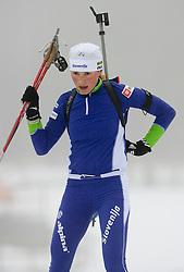 Dijana Ravnikar at training session of Slovenian biathlon team before new season 2009/2010,  on November 16, 2009, in Pokljuka, Slovenia.   (Photo by Vid Ponikvar / Sportida)