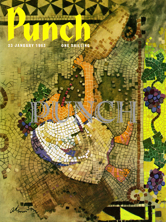 Punch cover 23 January 1963
