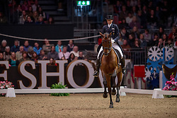 Oatley Lyndal (AUS) - Sandro Boy 9<br /> Kur - Reem Acra FEI World Cup Dressage Qualifier - The London International Horse Show Olympia - London 2012<br /> © Hippo Foto - Jon Stroud