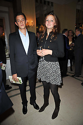 JAMES ROTHSCHILD and LADY BELLA SOMERSET at a party to celebrate the publiction of 'No Invitation Required' by Annabel Goldsmith, held at Claridge's, Brook Street, London on 11th November 2009.