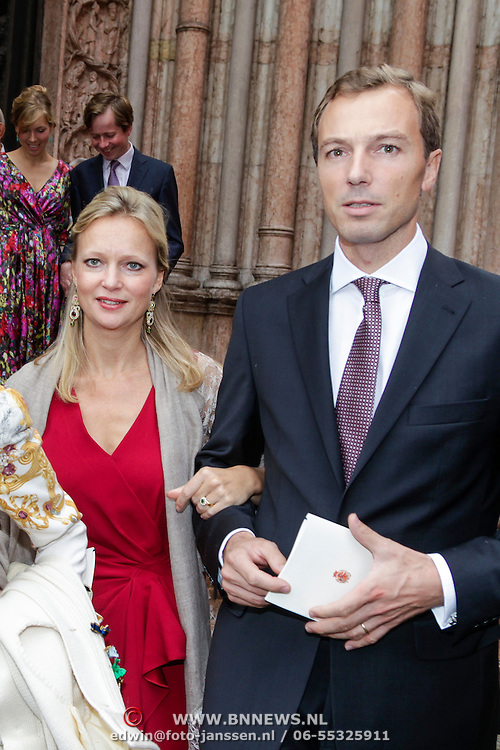 ITA/Parma/20120929- Doop prinses Luisa Irene, prins Carolina en partner Albert Brenninkmeijer