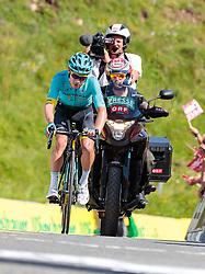 06.07.2017, Kitzbühel, AUT, Ö-Tour, Österreich Radrundfahrt 2017, 4. Etappe von Salzburg - Kitzbüheler Horn (82,7 km/BAK), im Bild Miguel Angel Lopez Moreno (COL, Astana Pro Team) // Miguel Angel Lopez Moreno (COL, Astana Pro Team) during the 4th stage from Salzburg - Kitzbueheler Horn (82,7 km/BAK) of 2017 Tour of Austria. Kitzbühel, Austria on 2017/07/06. EXPA Pictures © 2017, PhotoCredit: EXPA/ JFK