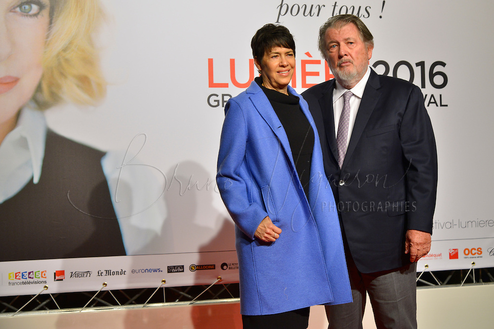 Walter Hill and his wife<br />