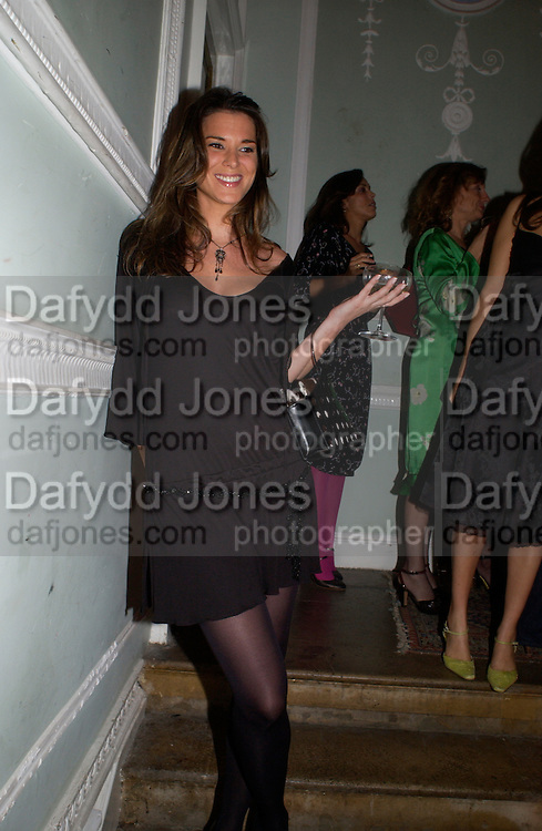 Lucy Blair, The Vogue List, celebrated by Vogue and Motorola. 33 Portland Place. 3 November 2004. ONE TIME USE ONLY - DO NOT ARCHIVE  © Copyright Photograph by Dafydd Jones 66 Stockwell Park Rd. London SW9 0DA Tel 020 7733 0108 www.dafjones.com