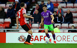 Callum O'Dowda of Bristol City takes on Billy Jones of Sunderland - Mandatory by-line: Robbie Stephenson/JMP - 28/10/2017 - FOOTBALL - Stadium of Light - Sunderland, England - Sunderland v Bristol City - Sky Bet Championship