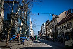 Nama shop, on March 29, 2017 at Slovenska Road, Ljubljana, Slovenia. Photo by Vid Ponikvar / Sportida