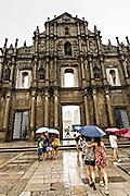 Ruins of St. Paul's Macau.