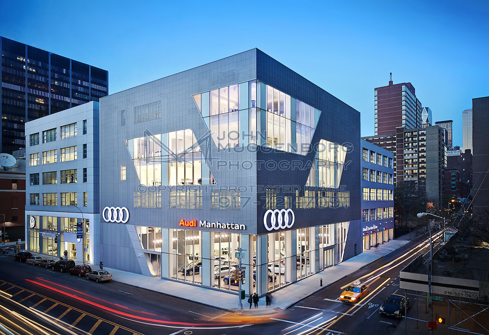 Photographed by John Muggenborg for Audi of America.