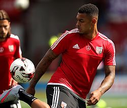 Brentford's Andre Gray - Mandatory by-line: Robbie Stephenson/JMP - 07966386802 - 08/08/2015 - SPORT - FOOTBALL - Brentford,England - Griffin Park - Brentford v Ipswich Town - Sky-Bet Championship