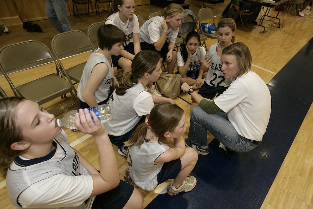 Bishop Seabury basketball - girls and boys - team photos