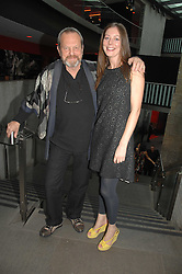 TERRY GILLIAM and his daughter AMY GILLIAM at the Roundhouse Rock and Roll Circus - an evening to raise funds for the Roundhouse's continued delivery of projects and facilities for young people, held at The Roundhouse, Chalf Farm Road, London on 12th June 2008.<br />