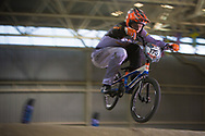 #175 (KIMMANN Niek) NED at the 2014 UCI BMX Supercross World Cup in Manchester.