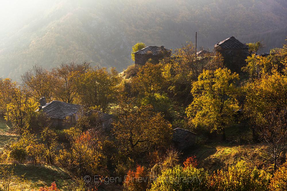 Rhodopean village at morning
