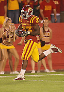 September 26, 2009: Iowa State running back Alexander Robinson (33) scores on a 32 yard touchdown reception during the second half of the Iowa State Cyclones' 31-10 win over the Army Black Knights at Jack Trice Stadium in Ames, Iowa on September 26, 2009.