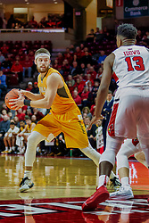 NORMAL, IL - February 05: John Kiser during a college basketball game between the ISU Redbirds and the Valparaiso Crusaders on February 05 2019 at Redbird Arena in Normal, IL. (Photo by Alan Look)