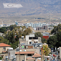 Nicosia, North Cyprus <br /> 19 April 2008 <br /> Nicosia (Lefkosa) city.<br /> The Turkic Republic of Northern Cyprus (TRNC), commonly called Northern Cyprus, is a de facto independent republic located in the north of Cyprus. The TRNC declared its independence in 1983, nine years after a Greek Cypriot coup attempting to annex the island to Greece triggered an invasion by Turkey. It has received diplomatic recognition only from Turkey, on which it has become dependent for economic, political and military support. The rest of the international community, including the United Nations and European Union, recognises the sovereignty of the Republic of Cyprus over the territory of the TRNC.<br /> Photo: Ezequiel Scagnetti