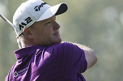 October 14, 2017 - Monza, Italy - Marcus Fraser of Australia on Day three of the Italian Open at Golf Club Milano  (Credit Image: © Gaetano Piazzolla/Pacific Press via ZUMA Wire)