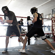 Boxing Gym Training at Sweet Z's Boxing Gym in Kansas City, Kansas, 66106.