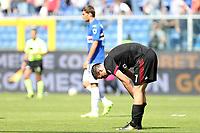 Genova - 24.09.2017 - Sampdoria-Milan - Serie A 6a giornata   - nella foto:  Nikola Kalinic deluso a fine partita
