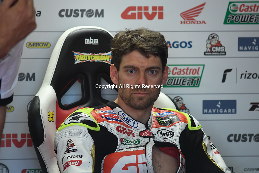 June 24th 2017, TT Circuit, Assen, Netherlands; MotoGP Grand Prix TT Assen, Qualifying Day; Cal Crutchlow (LCR Honda) during the qualifying sessions