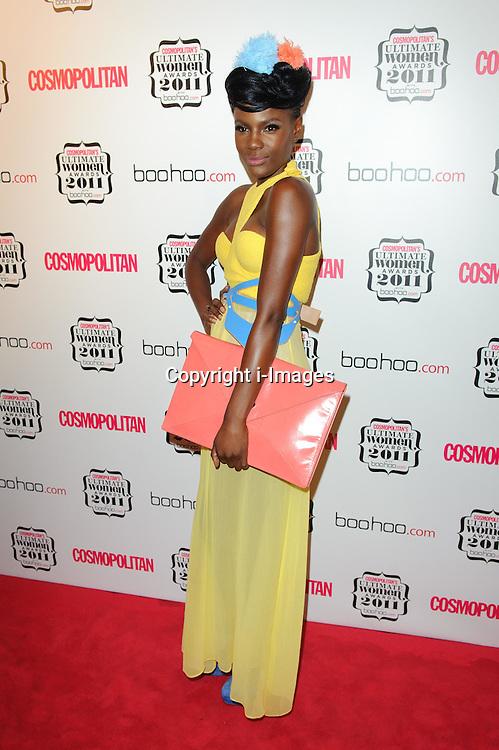 Shingai Shoniwa at Cosmopolitan's Ultimate Women Awards 2011 in London, Thursday, November 3rd 2011.  Photo by: i-Images