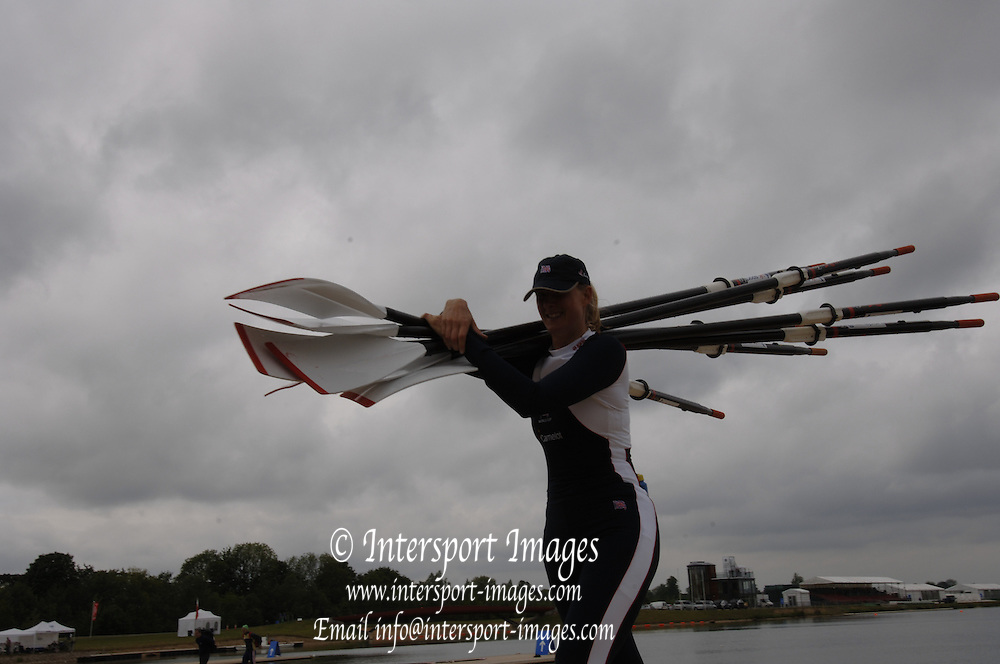 2005 FISA World Cup, Dorney Lake, Eton, ENGLAND, 28.05.05. GBR W4X Bow  Sarah Winckless,. .Photo  Peter Spurrier. .email images@intersport-images....[Mandatory Credit Peter Spurrier/ Intersport Images] , Rowing Courses, Dorney Lake, Eton. ENGLAND