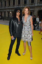 Musician SLASH and TRINNY WOODALL  at the Royal Academy of Arts Summer Exhibition Party at the Royal Academy, Piccadilly, London on 6th June 2007.<br />