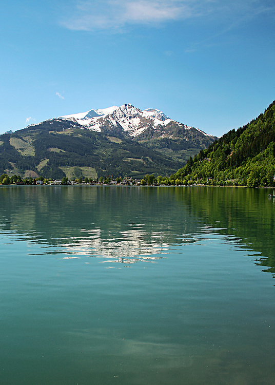 A view of Zeller See, Zell Am see, Austria