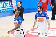 Michele Vitali, EA7 Emporio Armani Milano vs Germani Basket Brescia LBA serie A 4^ giornata di ritorno stagione 2016/2017 Mediolanum Forum Assago, Milano 12/02/2017