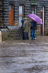 Flooding Mill Road Ecclesfield<br /> <br />  Copyright Paul David Drabble<br />  07 November 2019<br />  www.pauldaviddrabble.co.uk