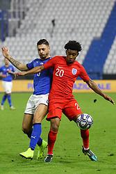 REISS NELSON (ENGLAND)     <br /> Football friendly match Italy vs England u21<br /> Ferrara Italy November 15, 2018<br /> Photo by Filippo Rubin