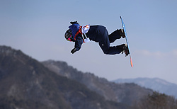Great Britain's Aimee Fuller in the Ladies' Slopestyle Snowboard Final during day three of the PyeongChang 2018 Winter Olympic Games in South Korea.