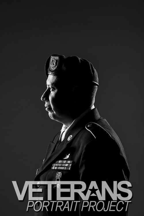 Roberto Trevino, Jr. <br /> Army<br /> E-5<br /> 12N, 74D<br /> June 2003 - Present<br /> OIF<br /> <br /> <br /> Veterans Portrait Project<br /> San Antonio, TX