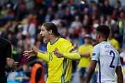 KIELCE, POLEN 2017-06-16<br /> Pavel Cibicki under UEFA U21 matchen mellan Sverige och England p&aring; Arena Kielce den 16 juni, 2017.<br /> Foto: Nils Petter Nilsson/Ombrello<br /> Fri anv&auml;ndning f&ouml;r kunder som k&ouml;pt U21-paketet.<br /> Annars Betalbild.<br /> ***BETALBILD***