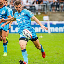 Anthony BOUTHIER of Montpellier during the Top 14 match between Bayonne and Montpellier on October 12, 2019 in Bayonne, France. (Photo by JF Sanchez/Icon Sport) - Anthony BOUTHIER - Stade Jean Dauger - Bayonne (France)