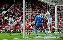 16-08-2014 ENG: Premier League, Manchester United vs Swansea City, Manchester<br /> Manchester United's Wayne Rooney scores the first equalising goal against Swansea City<br /> <br /> ***NETHERLANDS ONLY***